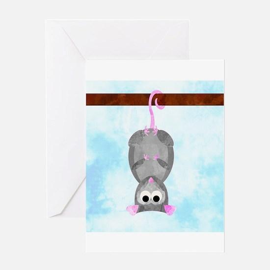 Blossom the Possum Greeting Card