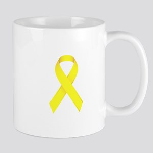 Yellow Ribbon Mug