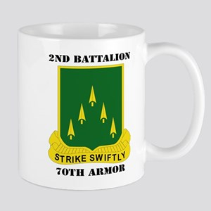 SSI - 2nd Battalion, 70th Armor with Text Mug