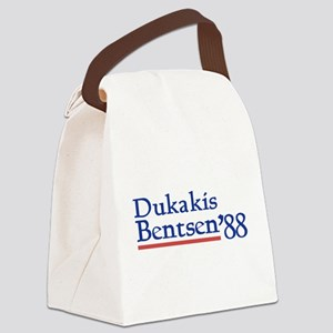 Dukakis Bentsen '88 Canvas Lunch Bag