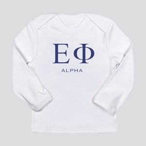 ElitistFucks Epsilon Phi Logo Long Sleeve Infant T