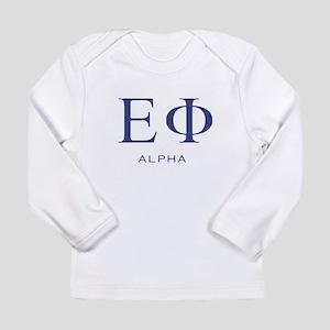 ElitistFucks Epsilon Phi Logo Long Sleeve Infant T