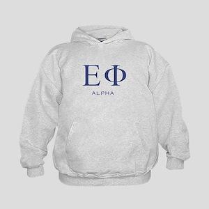 ElitistFucks Epsilon Phi Logo Kids Hoodie