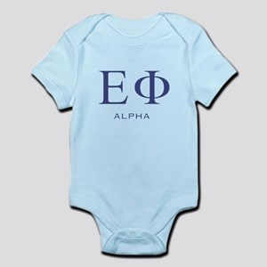 ElitistFucks Epsilon Phi Logo Infant Bodysuit
