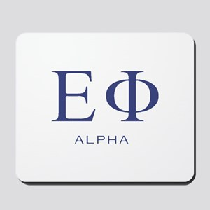 ElitistFucks Epsilon Phi Logo Mousepad