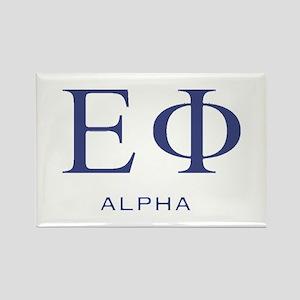 ElitistFucks Epsilon Phi Logo Rectangle Magnet