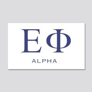 ElitistFucks Epsilon Phi Logo 20x12 Wall Decal