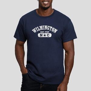 Wilmington NC Men's Fitted T-Shirt (dark)