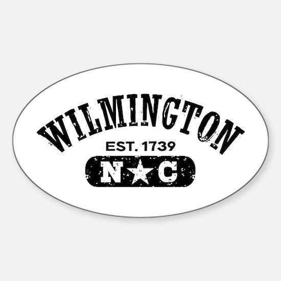 Wilmington NC Sticker (Oval)