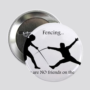 "No friends 2.25"" Button"