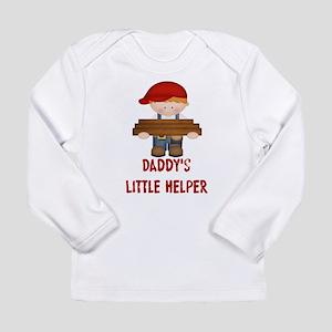Daddys Little Helper Long Sleeve Infant T-Shirt