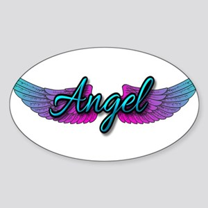 Angel Sticker (Oval)