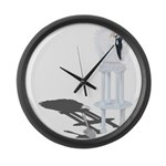 Wedding Cake Missing Large Wall Clock