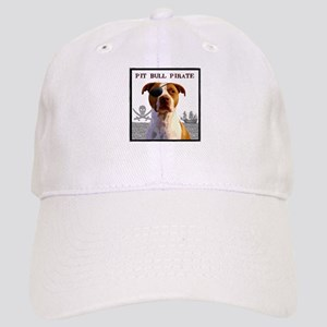 Pit Bull Pirate Cap
