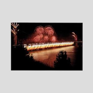 Fireworks - 75th Anniversary Golden Gate Rectangle