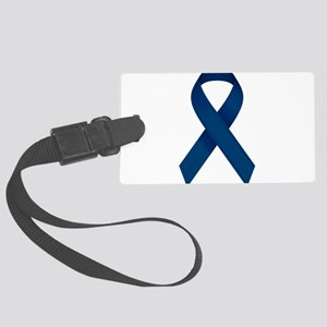 Blue Ribbon Large Luggage Tag