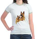 German Shepherd Jr. Ringer T-Shirt