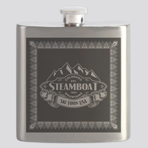 Steamboat Mountain Emblem Flask