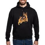 German Shepherd Hoodie (dark)