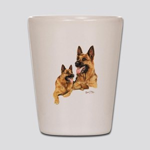 German Shepherd Shot Glass