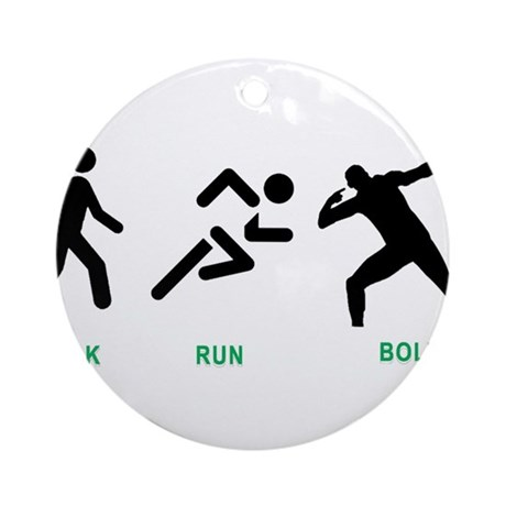 Bolt Jamaica Ornament (Round)