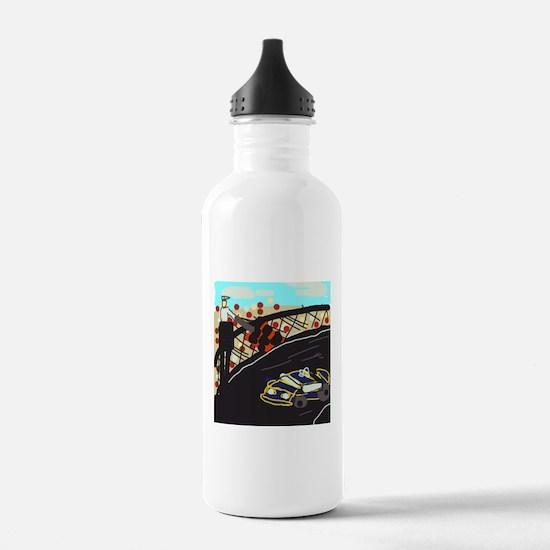 Race Car Water Bottle