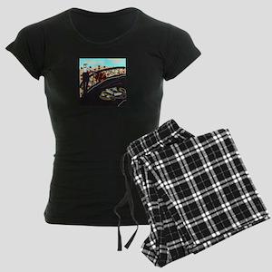 Race Car Women's Dark Pajamas