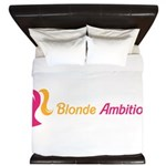 Blonde Ambitions King Duvet