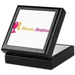 Blonde Ambitions Keepsake Box