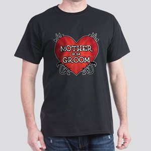 Tattoo Heart Mother Groom Dark T-Shirt