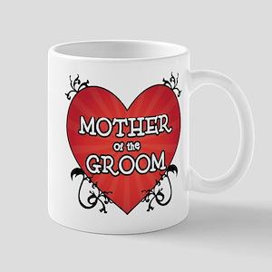 Tattoo Heart Mother Groom Mug