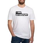 Carl Sagan Starstuff Fitted T-Shirt