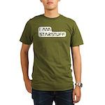 Carl Sagan Starstuff Organic Men's T-Shirt (dark)