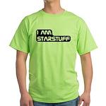 Carl Sagan Starstuff Green T-Shirt
