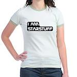 Carl Sagan Starstuff Jr. Ringer T-Shirt