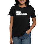 Carl Sagan Starstuff Women's Dark T-Shirt