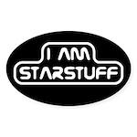 Carl Sagan Starstuff Sticker (Oval)