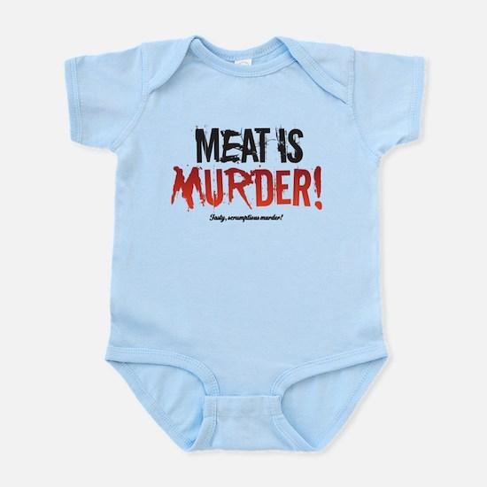 Scrumptious Murder Infant Bodysuit