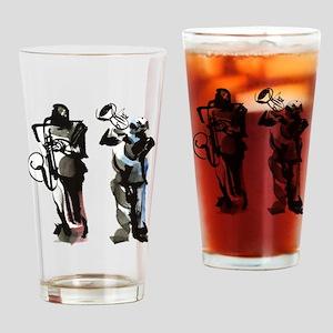 Jazz musicians Drinking Glass