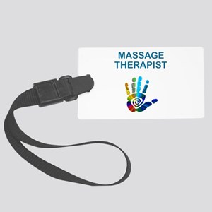 MASSAGE THERAPIST Large Luggage Tag