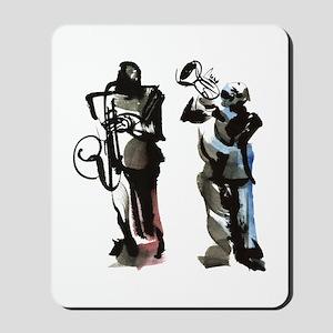 Jazz musicians Mousepad