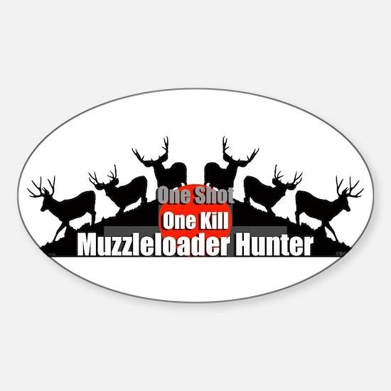 Muzzleloader Sticker (Oval)