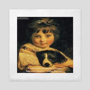Joshua Reynolds Miss Bowles Gifts Queen Duvet