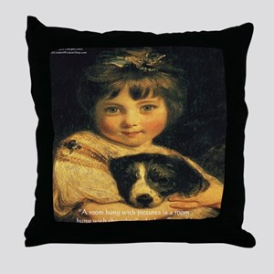 Joshua Reynolds Miss Bowles Gifts Throw Pillow