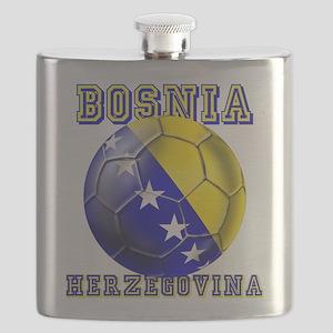 Bosnian Football Flask