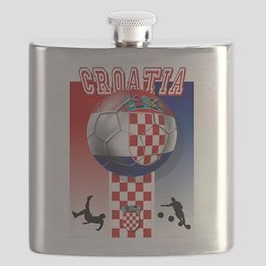 Croatian Football Flask