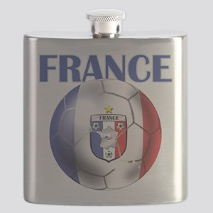 France Soccer Football Flask