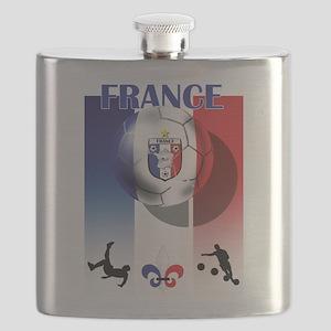 France Football Flask