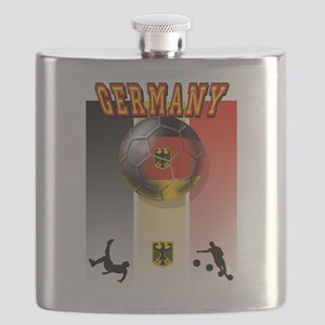 Germany Football Flask