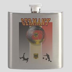 Germany Football Flask
